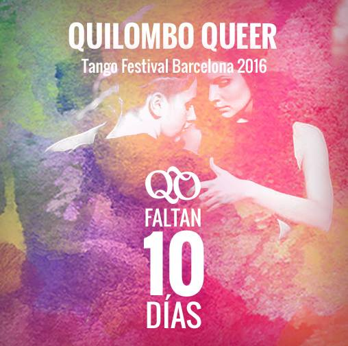 Quilombo Queer Tango Festival – May 25 – 29, 2016