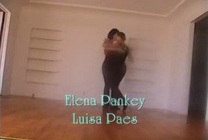 Elena Pankey and Luisa Paes