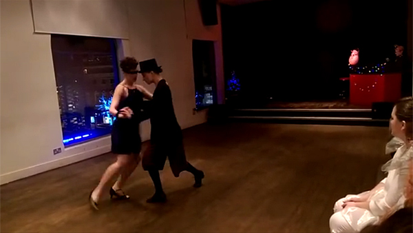 Rachel Sparks and Marie Eisenhardt – Burlesque Tango (2015)