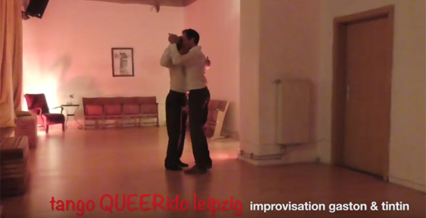 Tango QUEERido Leipzig – improvisation gaston & tintin