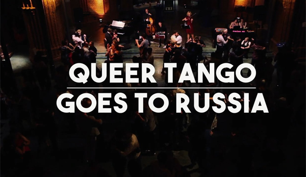 'Queer tango goes to Russia' – a trailer