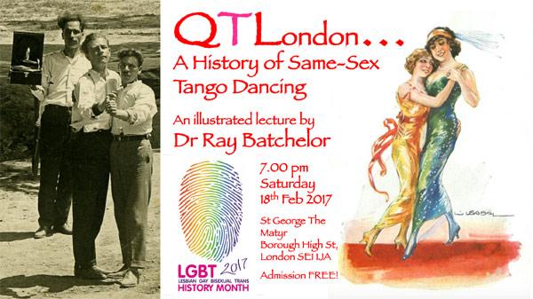A History of Same Sex Tango Dancing