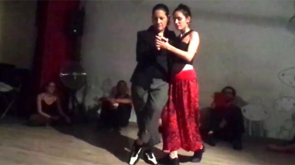 Soledad Nani and Dafne Saldaña in Spain