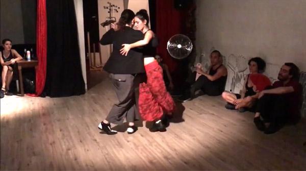 Soledad Nani and Dafne Saldaña –  Sanata by Amores Tango
