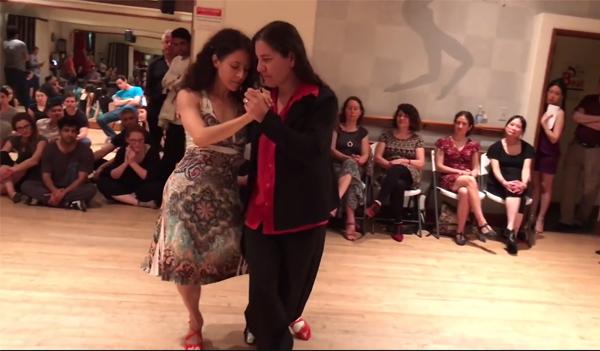 Soledad Nani and Andrea Fuchilieri