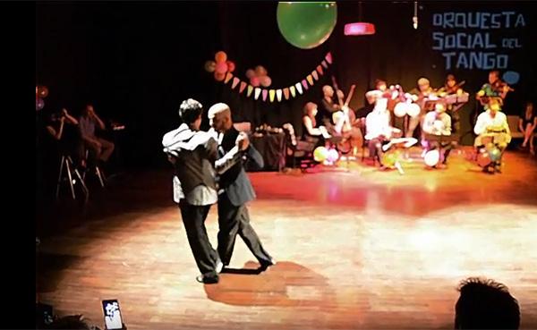 Claudio Cardona, Vito Muñoz and Orquesta Social del Tango