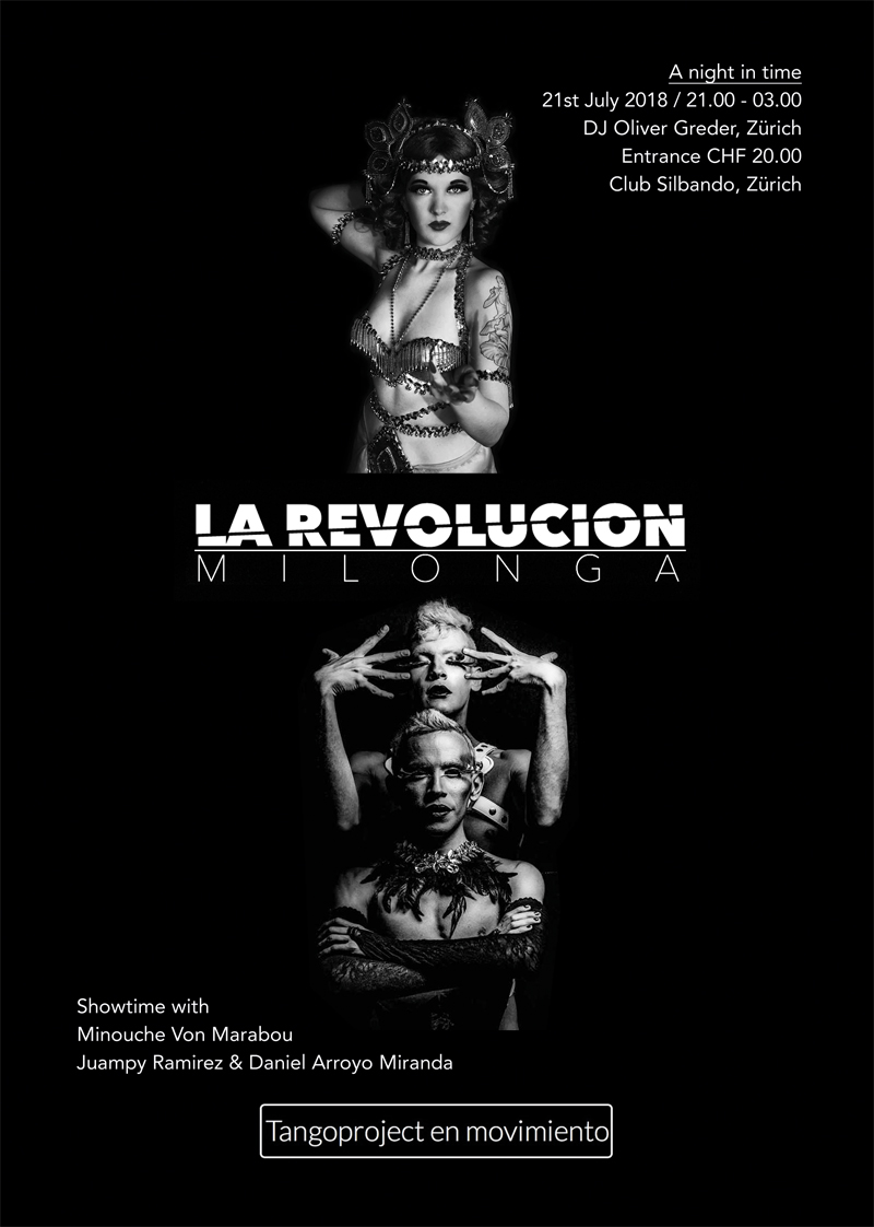 La Revolusion Milonga & Tangoproject en movimiento
