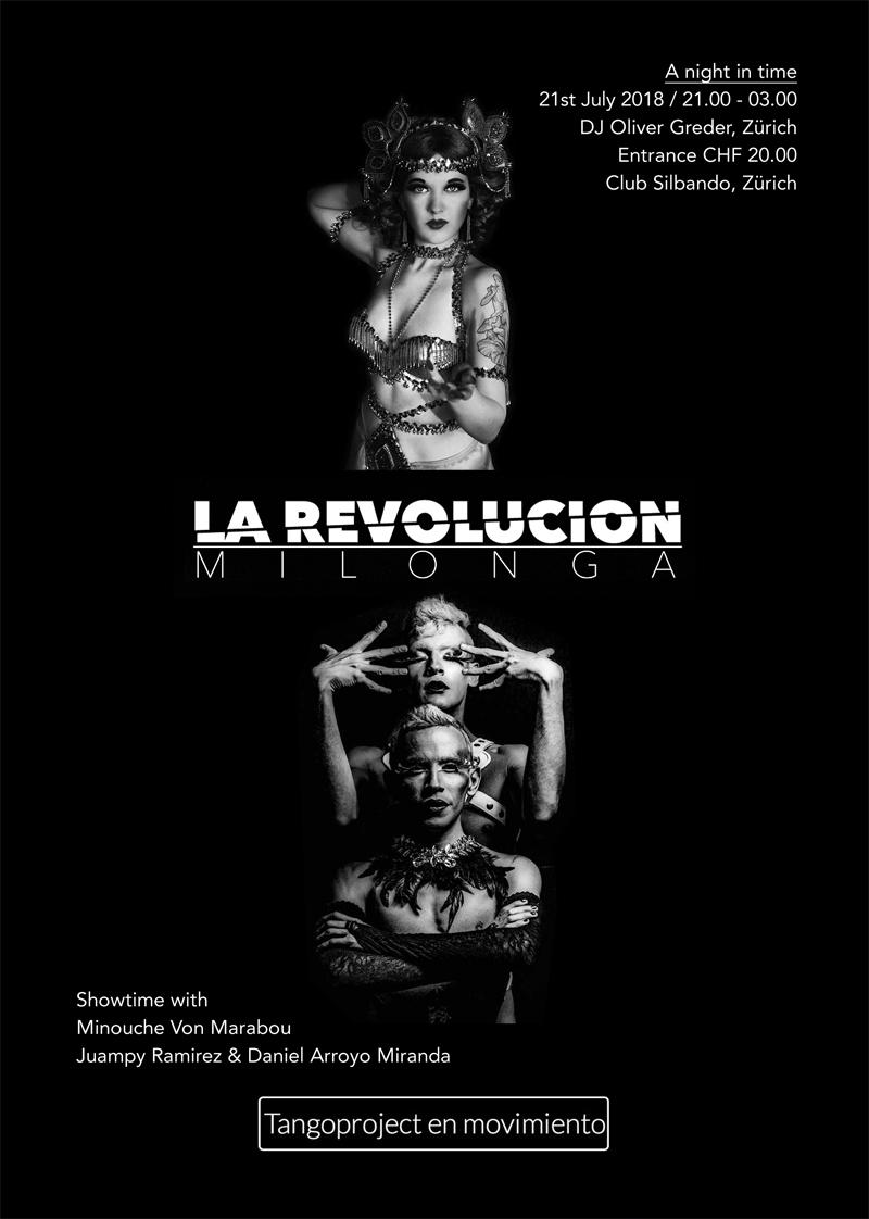 La Revolusion Milonga & Tangoproject en movimiento
