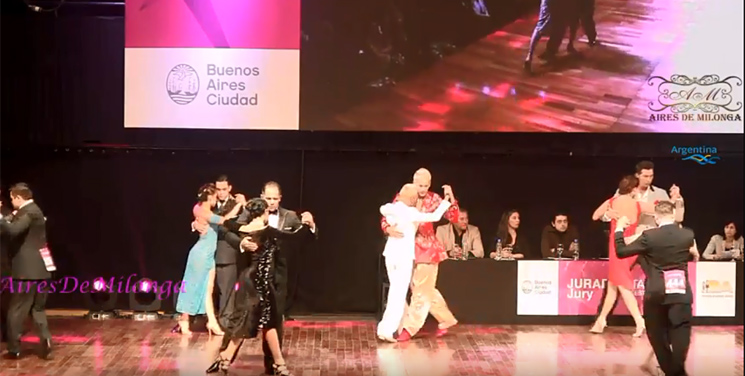 Same Gender Tango at The Mundial de Tango 2018