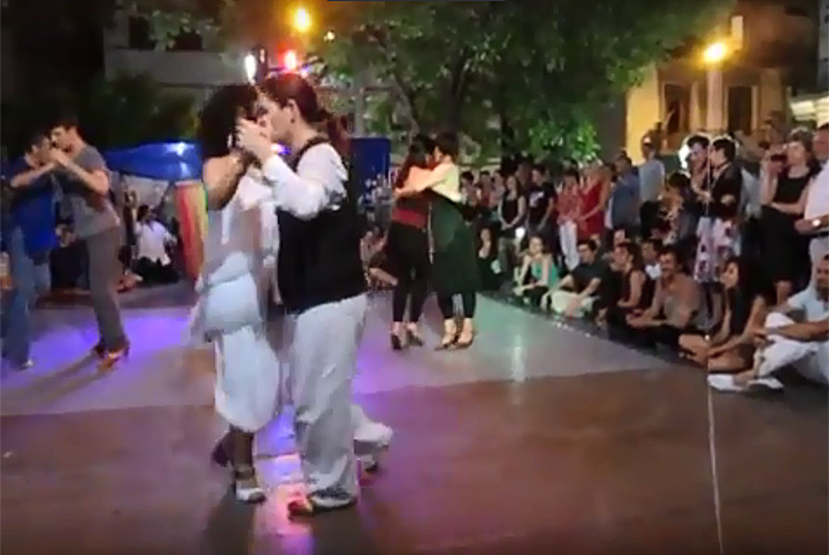 Queer Tango Performance in Argentina