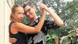 Brigitta Winkler and Malin Beckström