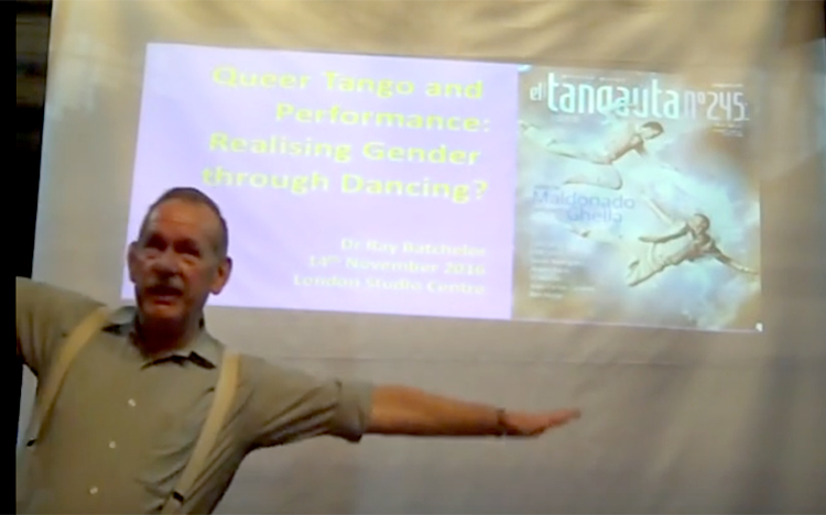 Dr Ray Batchelor – Queer Tango and Performance: Realising Gender through Dancing?