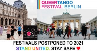 Queer Tango Festivals Postponed to 2021