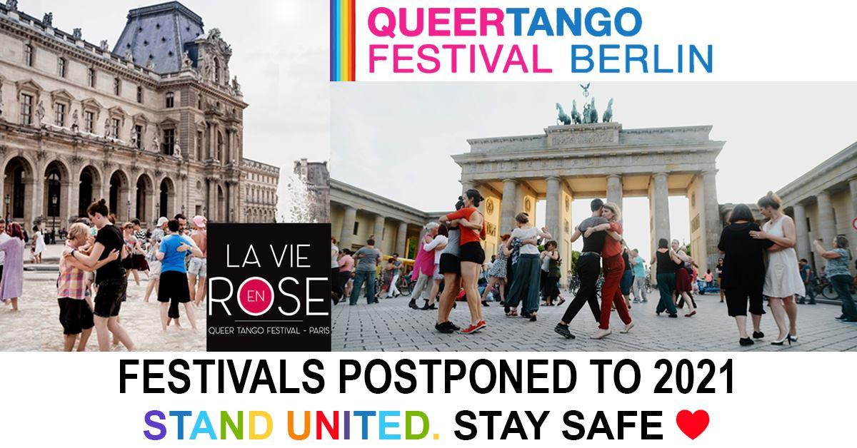 Queer Tango Festivals Postponed to 2021