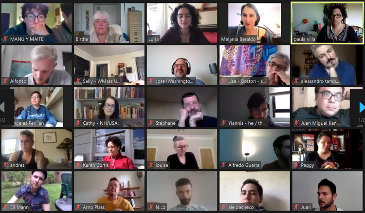 Chamuyo Queer Tango – Summary of the First Two Zoom Conferences