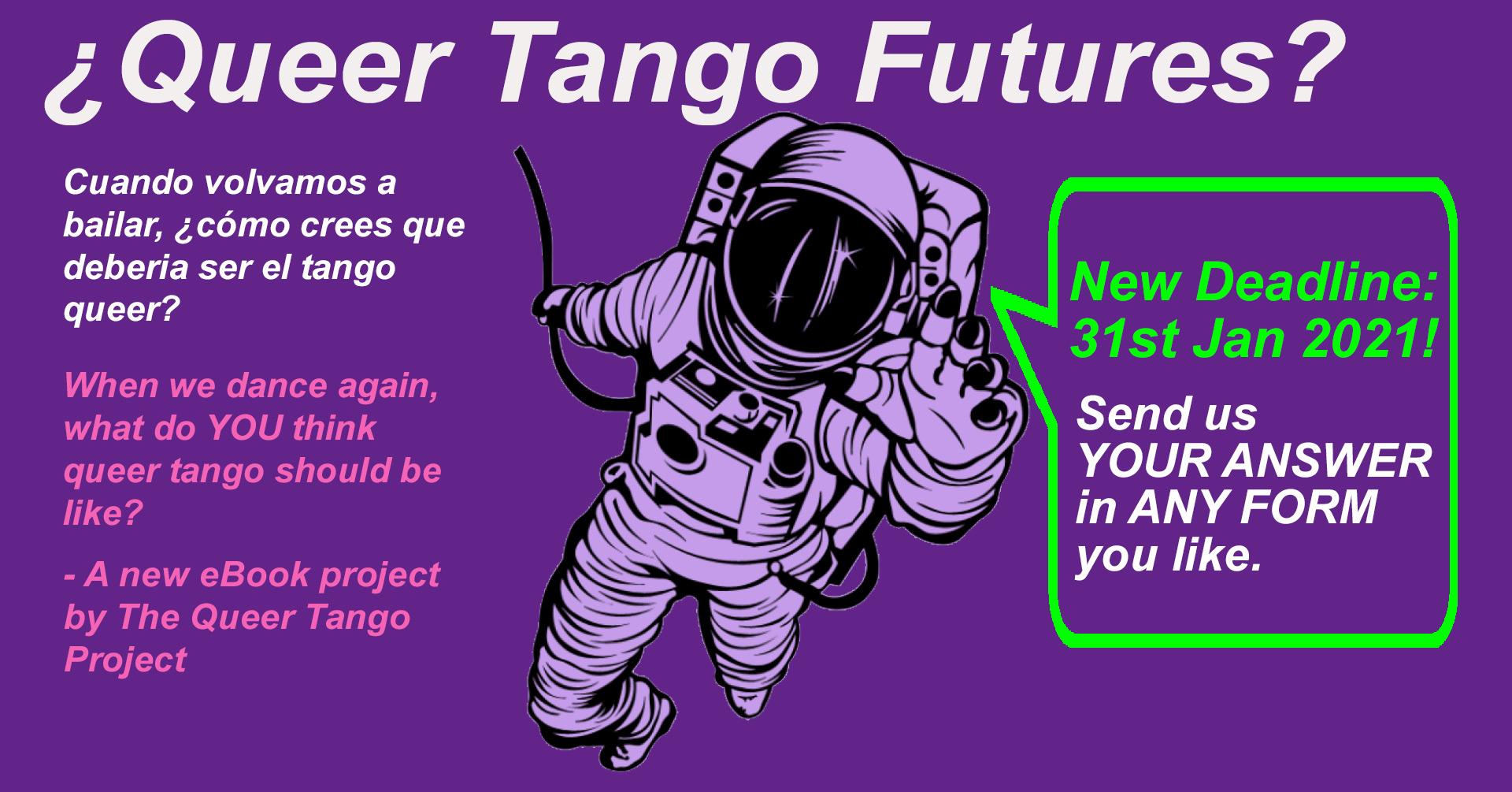 ¿Queer Tango Futures? – New Deadline: 31st Jan 2021