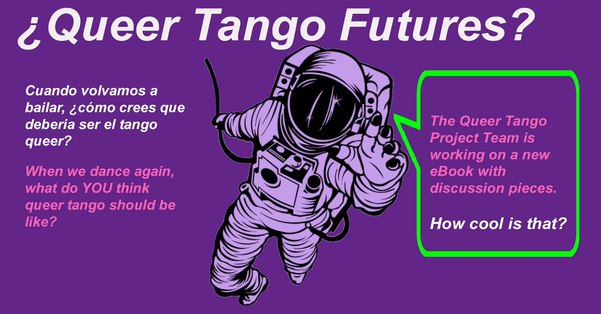 Queer Tango Futures Book Project