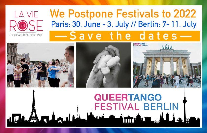 We Postpone Festivals to 2022